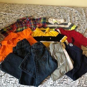 Boy 3T capsule wardrobe bundle Ralph Lauren Polo